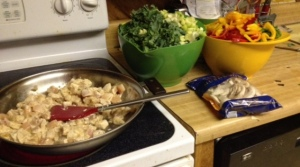 stir fry in progress 10-22-14
