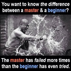 master vs. beginner