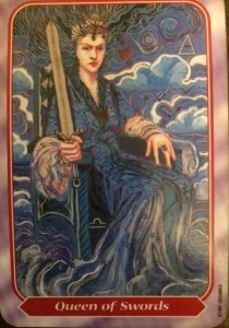 Queen of Swords-Spiral