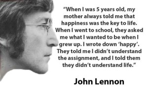 john-lennon-is-being-happy-the-key-to-life